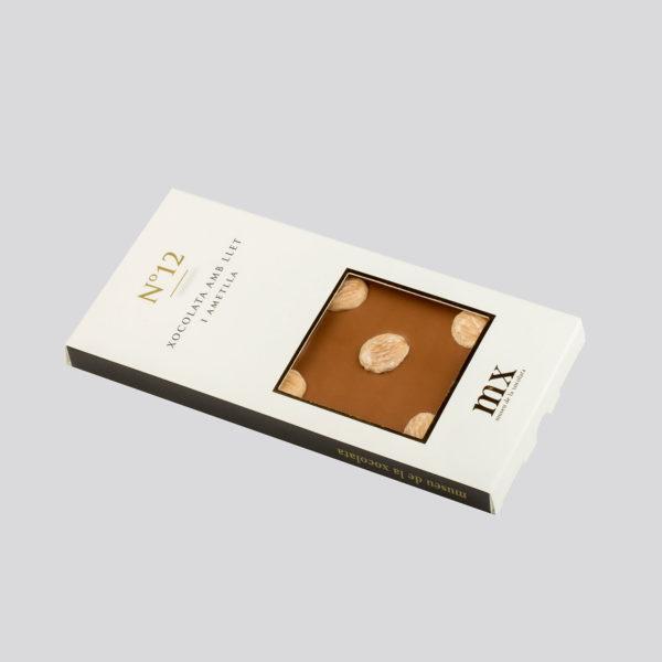 Rajola de Xocolata amb Llet i Ametlles