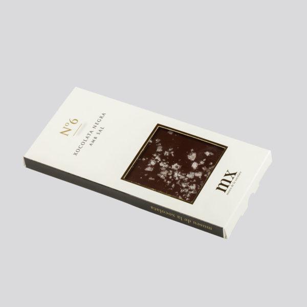 Tableta de Chocolate Negro con Sal