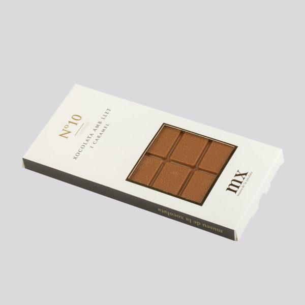 Rajola de Xocolata amb Llet i Caramel