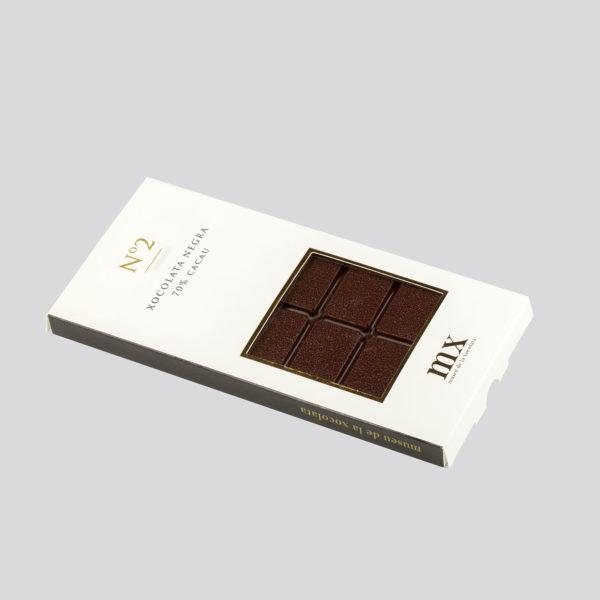 Rajola de Xocolata Negra 70%