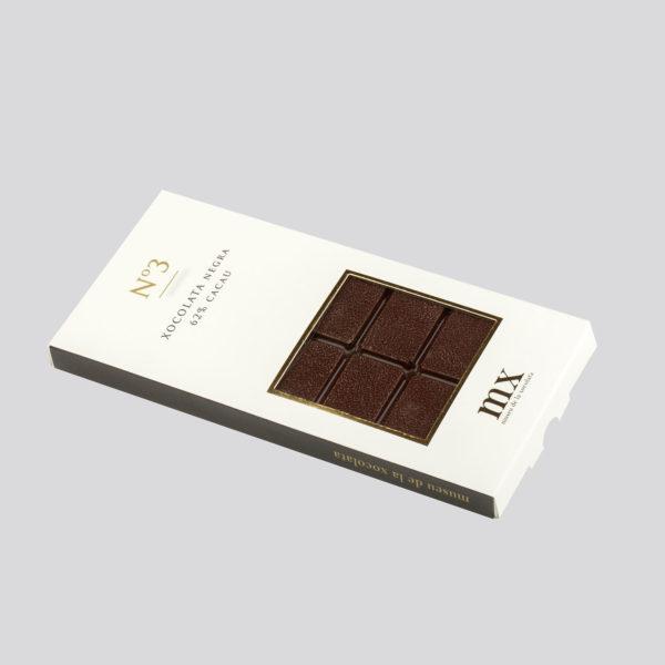 Tableta de Chocolate Negro 62%